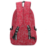 Stylish Canvas Backpack Travel Bag Daypack