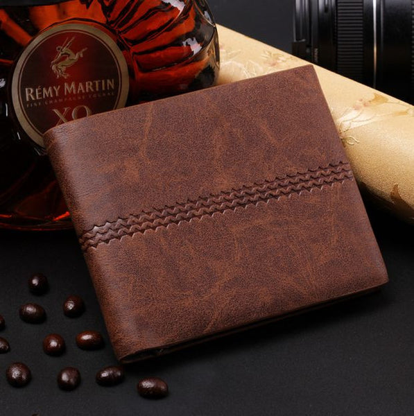 Mens Cool Leather Wallet