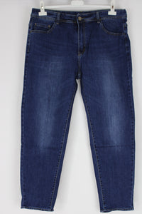 New Ladies Blue Denim Stretchy Skinny Jeans Size 16 18 (46)