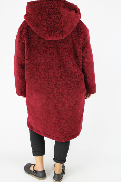teddy coat women's