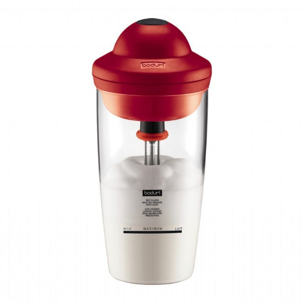 BODUM LATTE  Milk frother, battery operated, 0.2 litre, glass