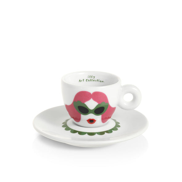 illy Art Collection Olimpia Zagnoli Set of 6 Espresso Cups