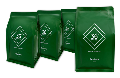 36th Parallel Coffee - Southern Blend - 4 PACK of 250 gram