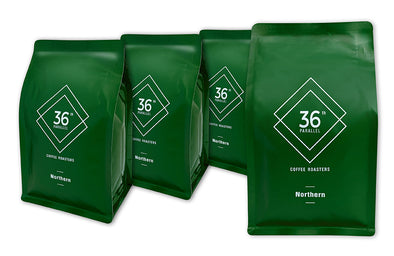 36th Parallel Coffee - Northern Blend - 4 PACK of 250 gram
