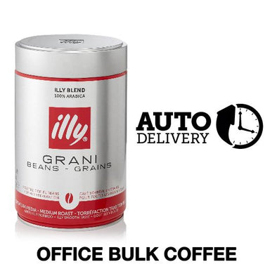 OFFICE BUNDLE - 5 cartons (7.5 Kg) of illy coffee 25% off - Auto delivery