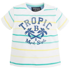 mayoral babyboy striped t shirt