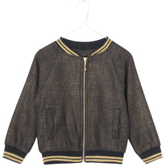 Mini A Ture, Girls Amber Jacket, Sky Captain Blue