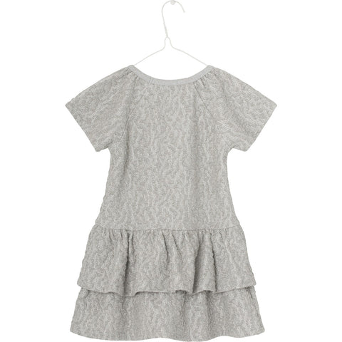 Mini A Ture, Kids Angelica Dress, Antique Silver