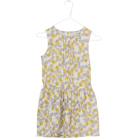 Mini A Ture, Charlotta Dress, Yellow Lemon