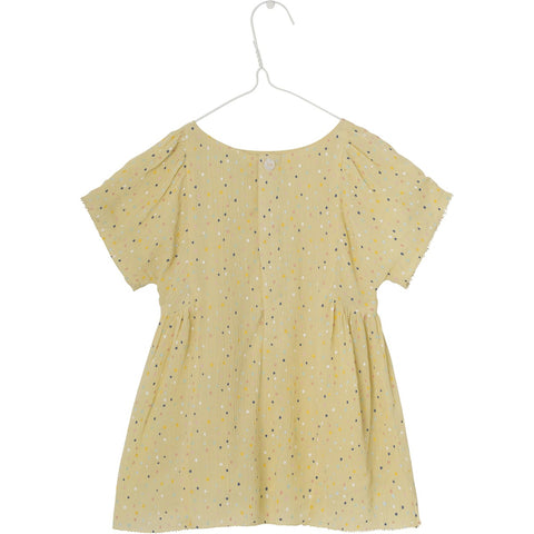 Mini A Ture, Chelsea Dress, Pale Banana