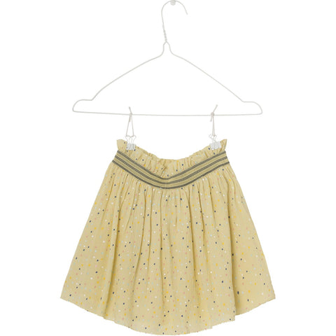 Mini A Ture, Girls Charita Skirt, Pale Banana