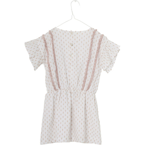 Mini A Ture, Distella Dress, White