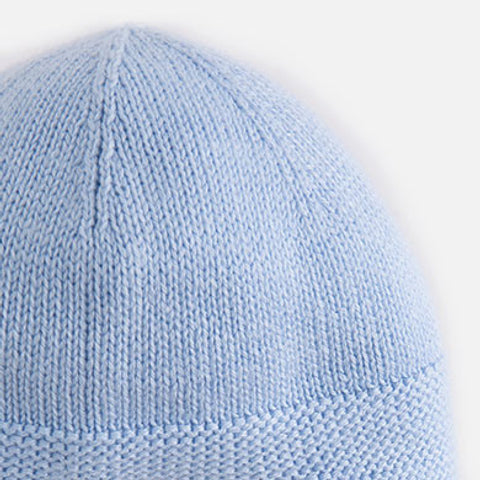 Mayoral Baby Knitted Hat, Sky