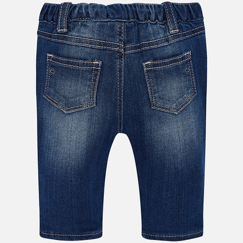 Mayoral Newborn Baby Basic Jean Trousers