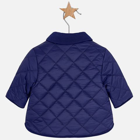 Mayoral Newborn Baby Navy Husky Coat
