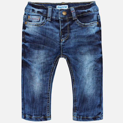 Mayoral Baby Boy 5-pocket Denim Trousers