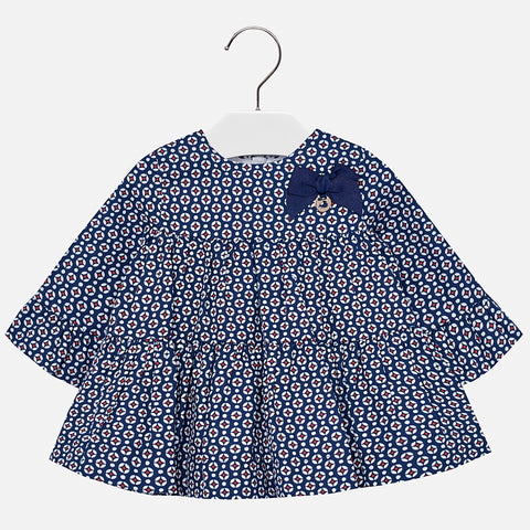 Mayoral Baby Girl Navy Dress