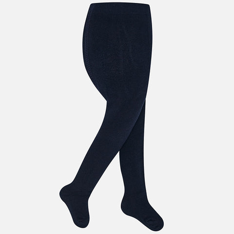 Mayoral Baby Girl Tights: Navy