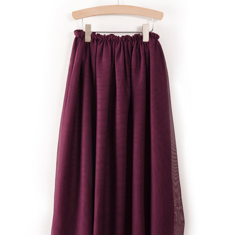 Bobo Choses, Tulle Skirt, Aubergine