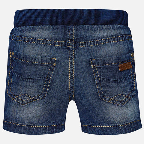 Mayoral, Baby Boys, Basic Denim Shorts