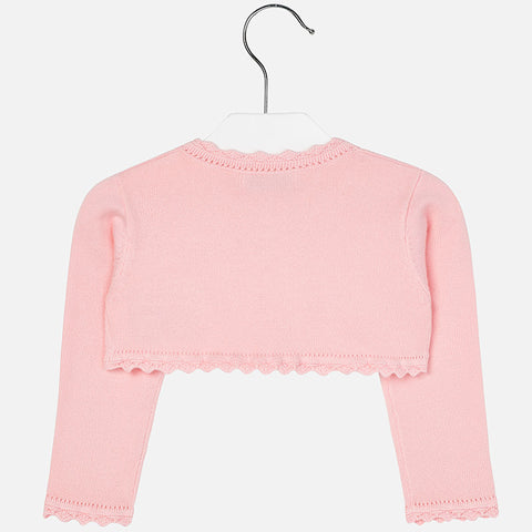 Mayoral, Baby Girls Cardigan, Rose Pink