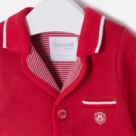 Mayoral, Newborn Boys, Jacket, Red
