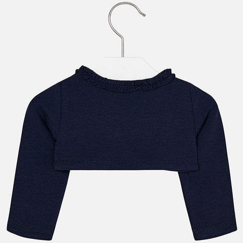 Mayoral, Baby Girl, Short Cardigan, Navy Blue