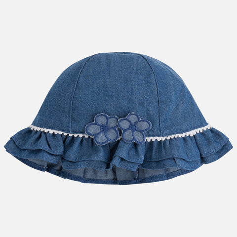 Mayoral, Baby Girl, Denim Sunhat