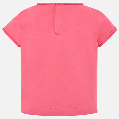 Mayoral Baby Girls T-Shirt, Geranium