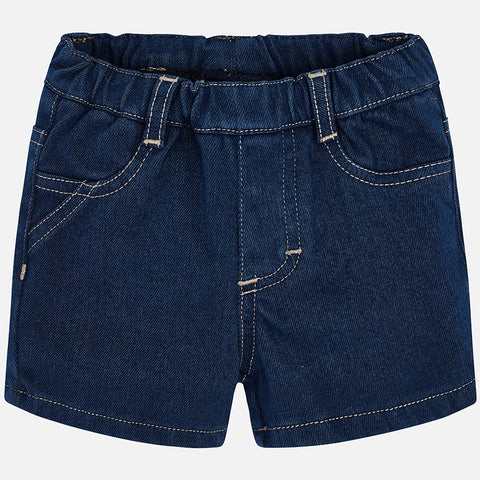 Mayoral Newborn Boy Denim Shorts