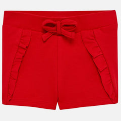 Mayoral Baby Girl Knit Shorts, Red