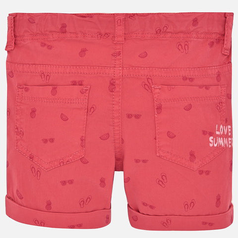 Mayoral Baby Girl Micro Printed Shorts