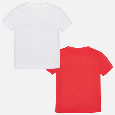 Mayoral Boy Party T-shirts (Set of 2)
