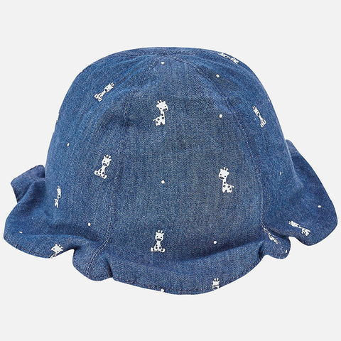 Mayoral Newborn Unisex Reversible Hat