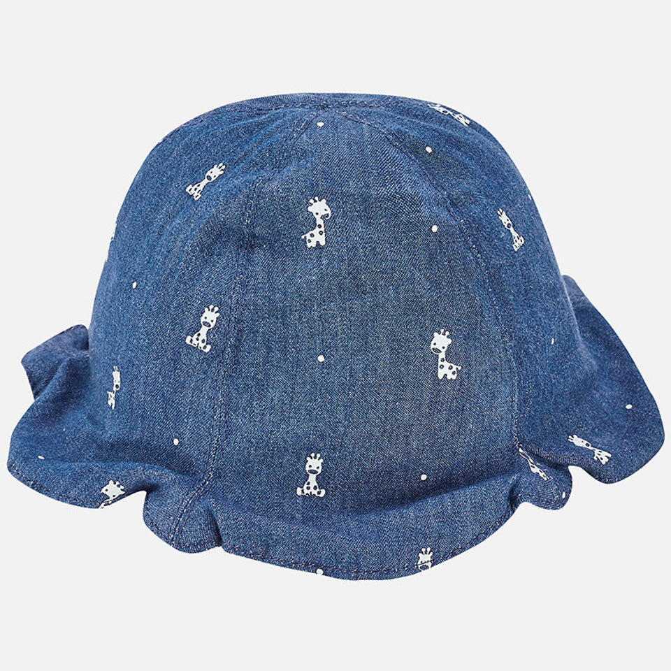 3f1169b520d Mayoral Newborn Unisex Reversible Hat ...