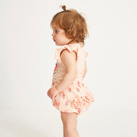 Soft Gallery, Baby Girls Pip Bloomers, Pale Dogwood, Blossom