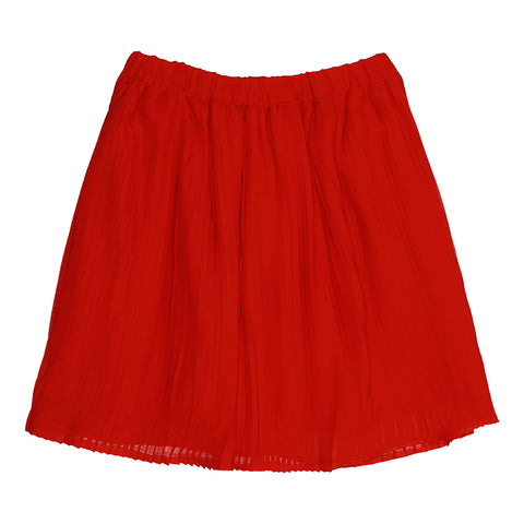 Soft Gallery, Girls Mandy Skirt, Flame Scarlet