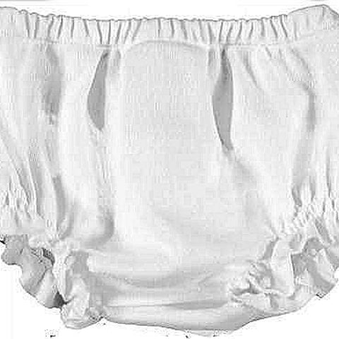 Mayoral Newborn Frilly Pants: White