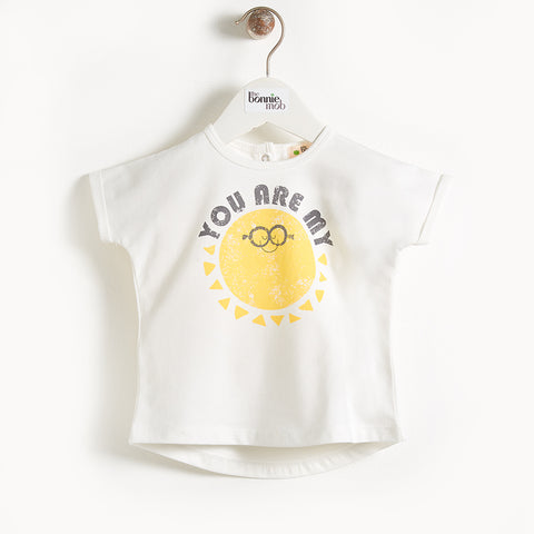 The Bonnie Mob Deacon T-Shirt: Sunshine
