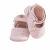 Moulin Roty Pink Leather Slippers