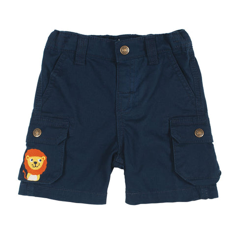 Frugi, Little Explorer Shorts, Navy