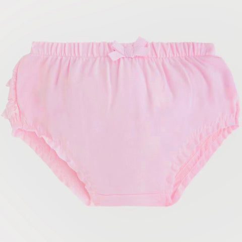 Mayoral Newborn Frilly Pants: Pink