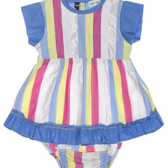 lilly & sid fondant stripe dress set