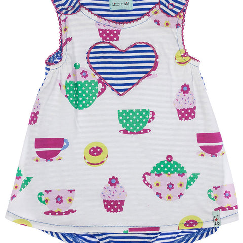 lilly & sid tea time sunny suit