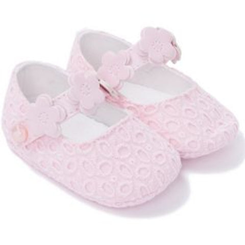Mayoral, Newborn Girls, Mary Jane Shoes, Pink