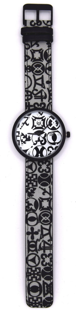 African textile watch