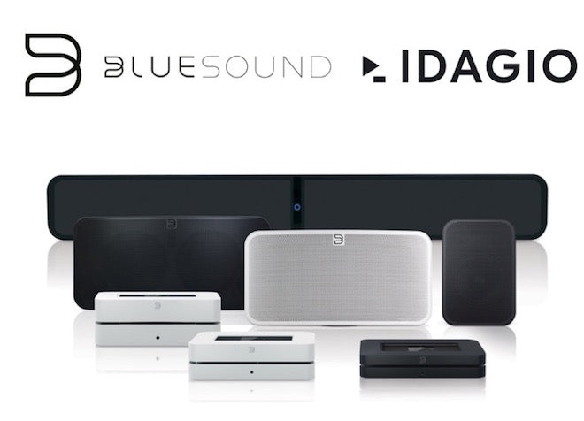 Bluesound & NAD mit IDAGIO!