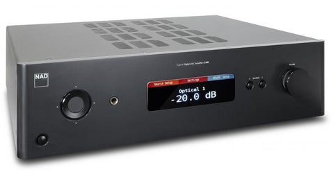 NAD C 388 Hybrid Digital DAC Amplifier (Bluesound opt.)