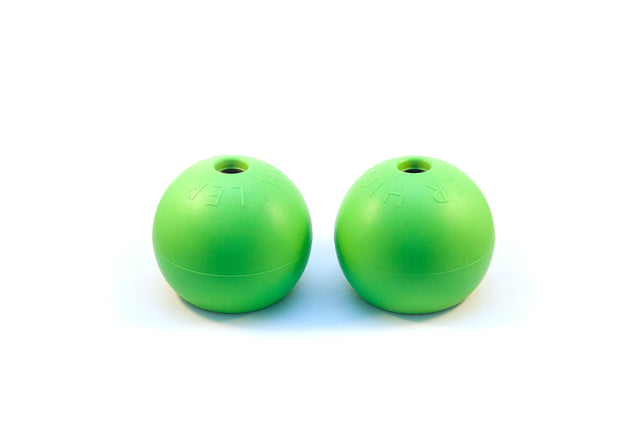 Green softer replacement balls to HighBaller