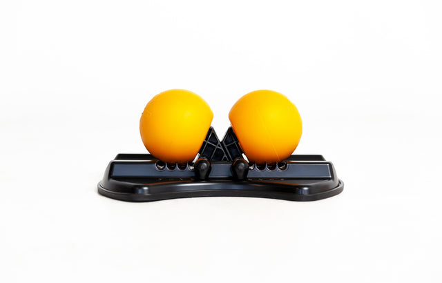HighBaller - World's first rotating massage balls on width adjustable stand